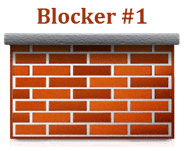 blocks to success wall